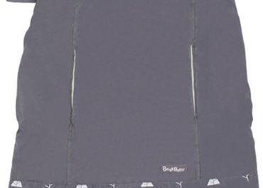 ochranná kapsa na nosiče s uškami sivá