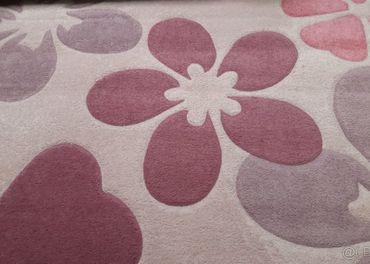 Ruzovy koberec Flair 200x290