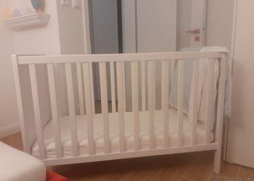detska postel SUNDVIK IKEA, matrac zadarmo
