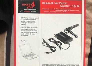 Notebook car power Adapter- 120w