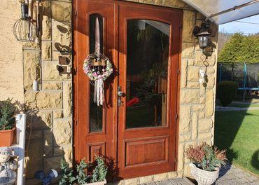 Vchodové dvere DUB masív