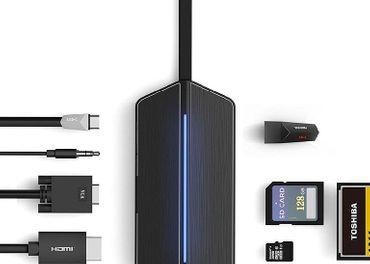USB-C TRAVEL DOCK 8v1