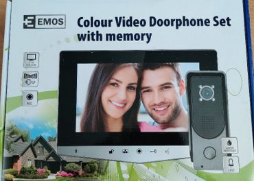 EMOS Sada domáceho videotelefónu H2030 strieborný