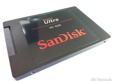 SanDisk SSD 500GB 2,5 NOVY a SanDisk X600 SSD 128GB