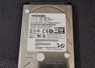 Predám 2,5 HDD SATA Toshiba 1TB MQ01ABD100 - 100% stav