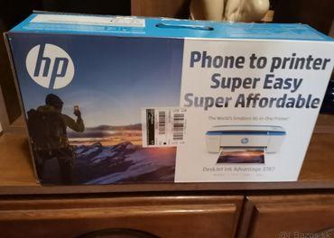 HP desk jet 3787, má scener