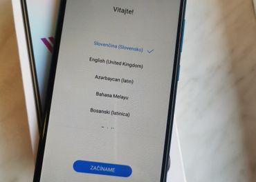 Huawei Y7 2019 blue, ako nový