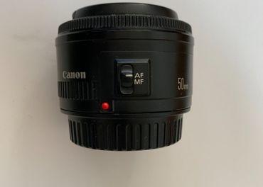 Canon EF 50 mm f/1.8 STM