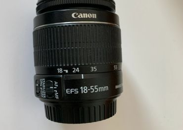 Canon EF-S 18-55mm f/3,5-5,6