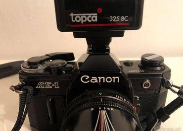 Canon AE1 + Canon 70-210