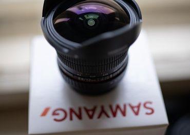 Samyang 12mm F2.8 ED AS NCS Fish-eye pre Canon EF