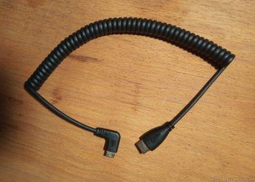 Kábel pre externý monitor HDMI mini - HDMI