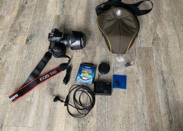 Canon 50D s objektivom Canon EF-S 17-55mm