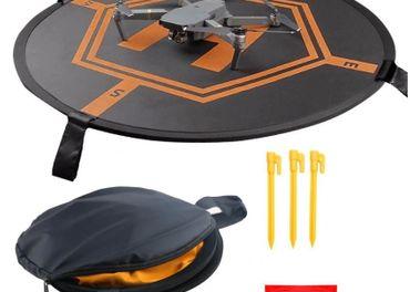 Pristávacia podložka pre drony,80cm,Oranžová/čierná