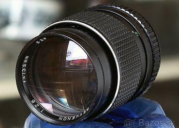 EX objektív pre Nikon - Revuenon 135mm / F2,8 / Nikon F