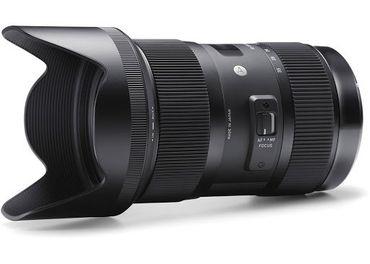 Sigma AF 18-35mm F1.8 DC HSM Lens Art Series for Canon