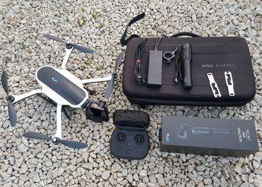 GoPro Karma Dron v batohu+GoPro Hero 5 kamera a stabilizátor