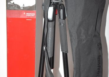 Manfrotto MK055XPRO3-3W + MHXPRO-3W SET - TOP STAV