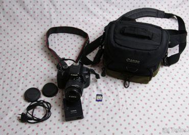 Predám fotoaparát Canon 550 D