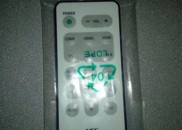 Predám originálny nový diaľkový ovládač pre projektor NEC