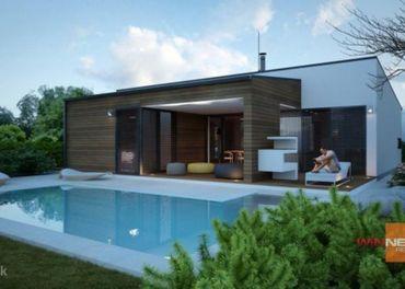 Na predaj moderný rodinný dom v stave hrubá stavba