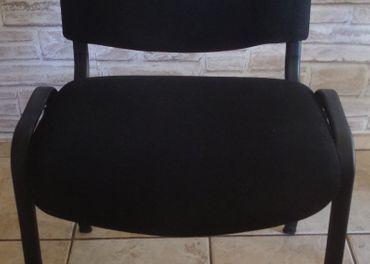 Kancelárske stoličky Iso Black