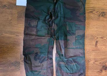 Carhartt Aviation Pant Camo Evergreen rinsed