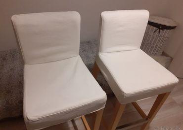 Predam dve barove stolicky Ikea
