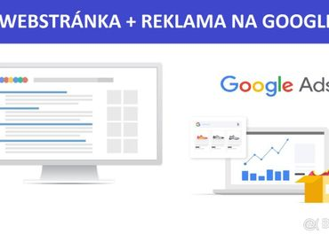 WEBstránka s reklamou na Google za 199€
