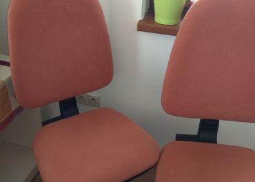 Stoličky na kolieskach 2+1ks