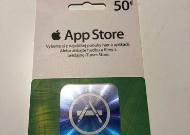 AppStore 50 eur kredit