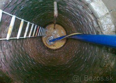 Cistenie studni,dezinfekcia,vymena cerpadiel a servis
