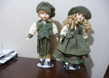 Stojace bábiky - dekorácia