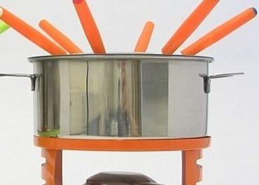 Súprava na Fondue oranžová