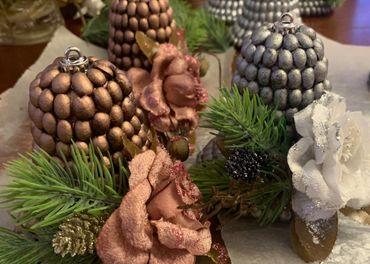 Vianocne dekoracie / ozdoby z kavy
