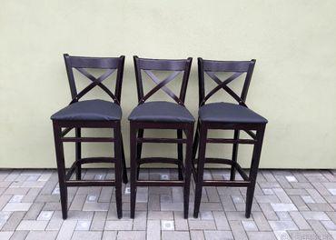 Barové stoličky Dublino 3ks