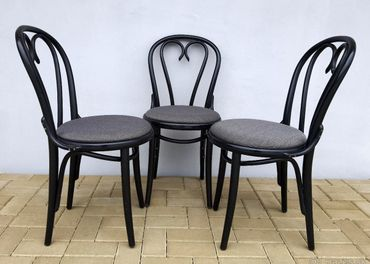 Stoličky TON 3ks