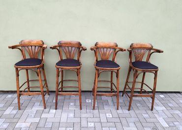 Barové stoličky TON 4ks