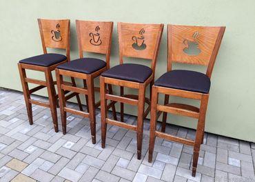 Barové stoličky TON č.2 4ks