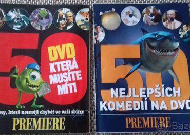 PREMIERE 50 DVD a 50 najlepších komedií na DVD