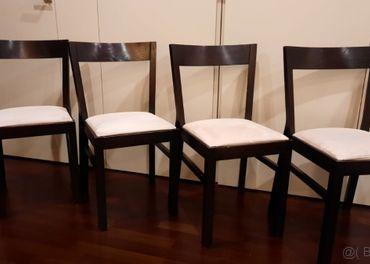 Jedálenské stoličky - 4 kusy
