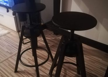 Barove stoličky 2ks - nepouživane