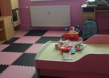 Farebná penová puzzle podlaha