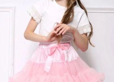 Dievčenská sukňa TUTU dolly styl  NOVA pás regulovateľný