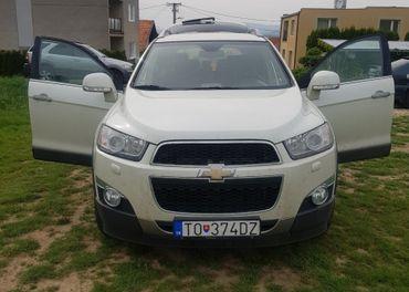 Predám Chevrolet Captiva 2.2 D, 7miest, 9/2012, 9000€