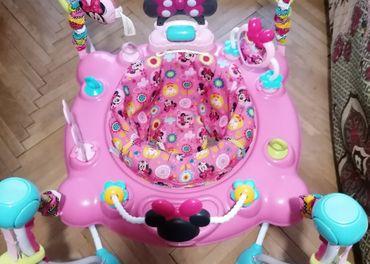 Hopsadlo Bright Starts Minnie Mouse (detské skákadlo)