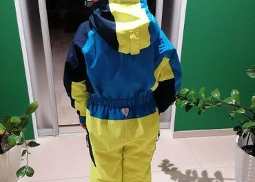 Detská zimná kombinéza Kilpi ASTRONAUT-JB modrá 110_116