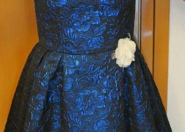 Slávnostné dievčenské šaty 134
