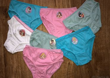 Dievčenské nohavičky Disney princezné veľkosť 98-104