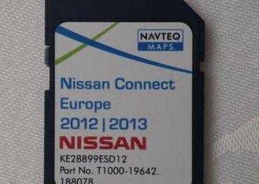 Mapy k navigácii Nisan Connect 1 - na SD karte